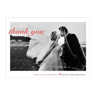 Wedding Digital Photo Thank You