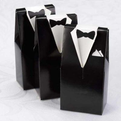 Black Tuxedo Favor Box