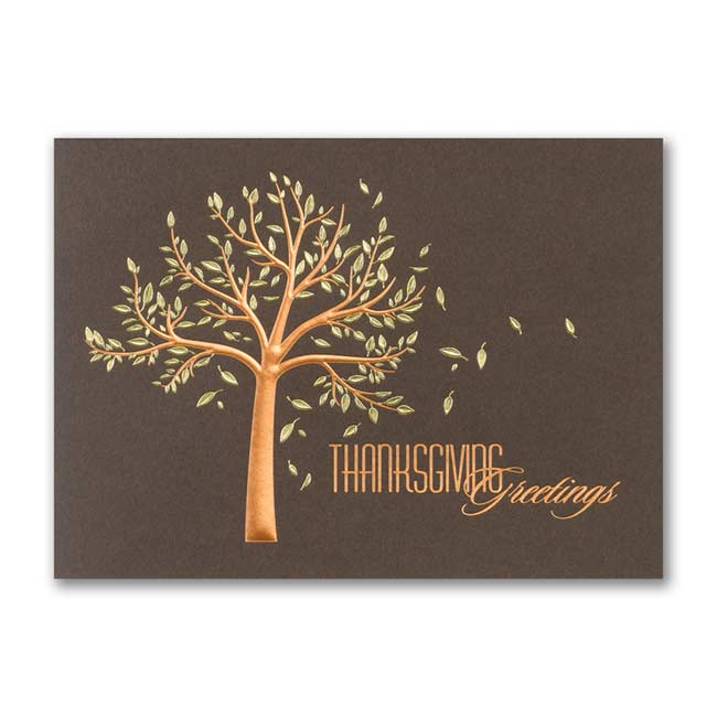 Fall Greetings – Thanksgiving Card