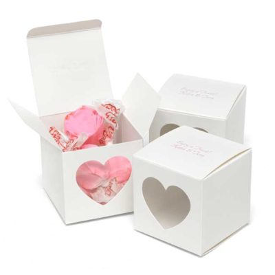 Heart Window Favor Box