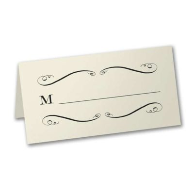 Savory Swirls Place Card