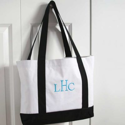 Tote Bags – Black & White