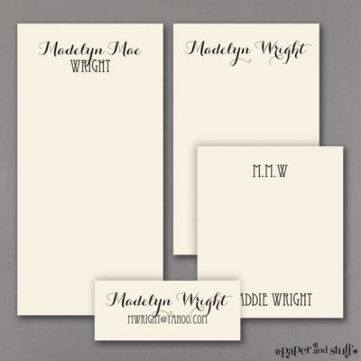 Pursuit of HappinessNote Pad Gift Set